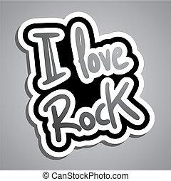 Love rock - Creative design of love rock