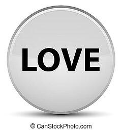Love special white round button