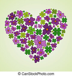 Love Spring heart