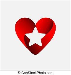 Love Star Logo