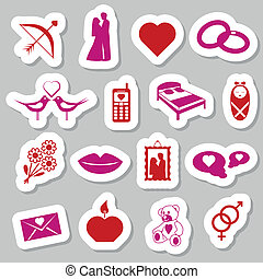 love stickers