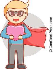 love story super hero