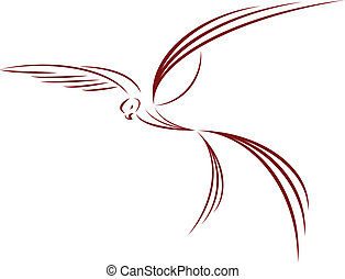 love symbol- dove, bird, freedom