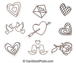 Love Symbol Object