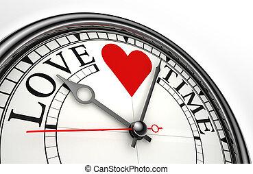 love time concept clock
