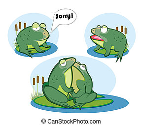 love two frogs