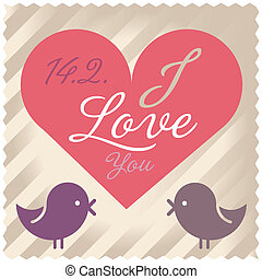 Love Valentine vector