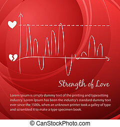 Love vector diagram.