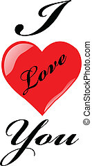 love - vector