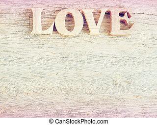 """""""love"""", vzkaz"""