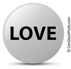 Love white round button