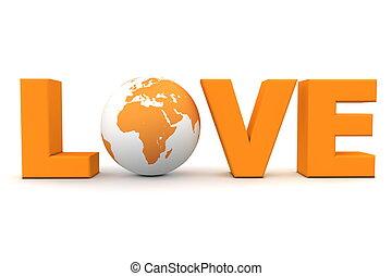 Love World Orange