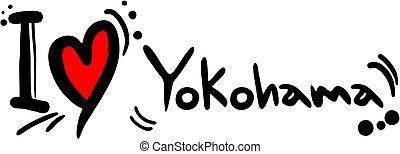 Love Yokohama - Creative design of love yokohama