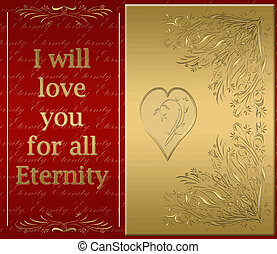 Love you for eternity