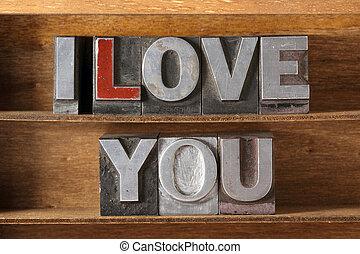 love you met