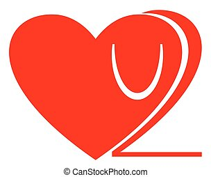 Love you too icon. Love u 2 clipart. Isolated. White background