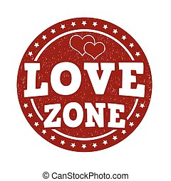Love zone stamp
