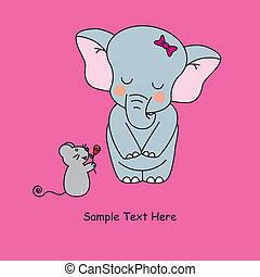 love., zwierzęta, karta