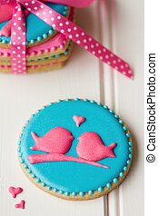 lovebird, ciasteczka