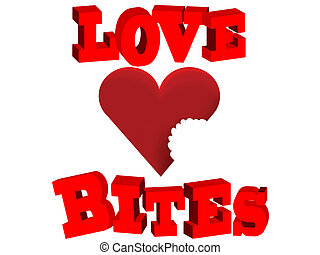 lovebites Love Bites Bitten heart v