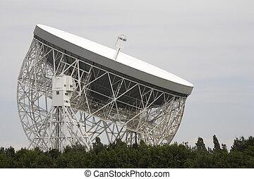 lovell radio telescope - jodrell bank radio telescope...