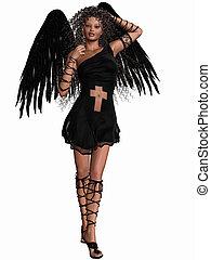 Lovely Angel - 3D Render of an Lovely Angel