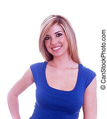 Lovely Blond Girl
