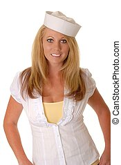 Lovely Blond Sailor Girl
