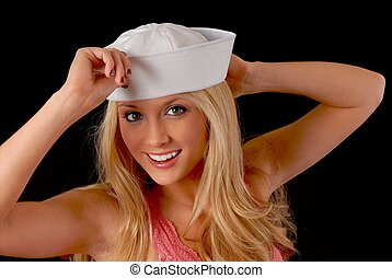 Lovely Blond Sailor