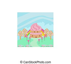 lovely Candy house