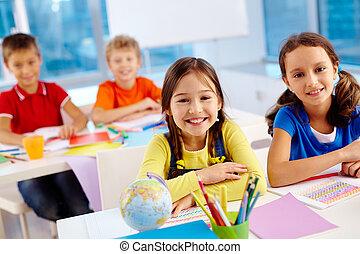 Lovely classmates
