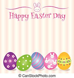 Lovely Easter Day background and card and object - Lovely...