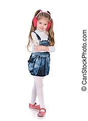 Lovely fashion little girl