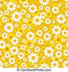 Lovely floral seamless pattern vector illustration