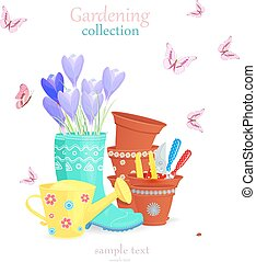 lovely gardening collection