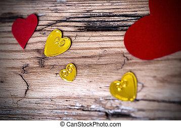 Lovely Heart Background II