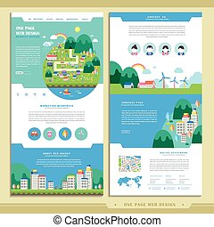 lovely one page web design