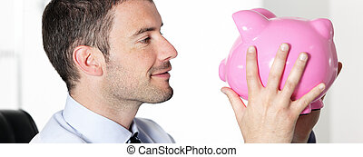 lovely piggy bank