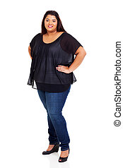 lovely plus size model - lovely female plus size woman full...