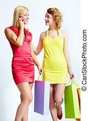 Lovely shopping