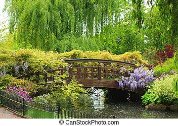 Lovely spring garden