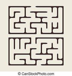 lovely square maze