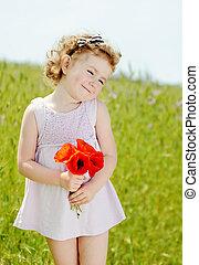 lovely toddler girl