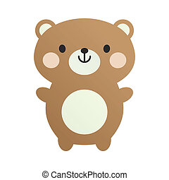 Lovely toy teddy bear - fur, toy, art, zoo, pet, soft, bear,...
