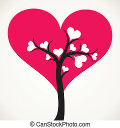 lover tree with small white leaf