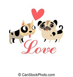 Lovers graphics funny puppies