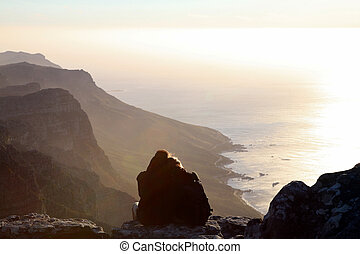 Lovers in cape point
