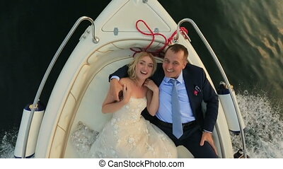 Lovers Lying in the Boat