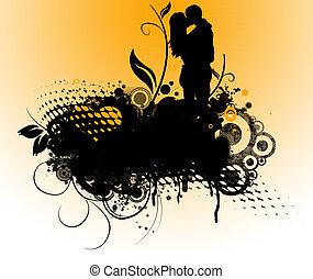 Lovers - Retro look