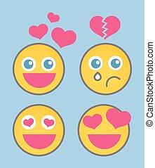 Lovestruck Smiley Set